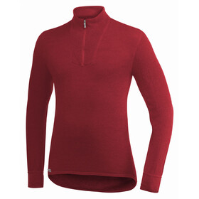 Woolpower 200 Zip Turtleneck Unisex red